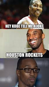 Dwight Howard Meme - kobe bryant to dwight howard lakers rockets http