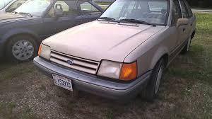 1987 Ford Escort Wagon 1988 Ford Escort Lx Youtube