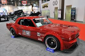 Sema 2011 Filip Trojanek U0027s 1966 Widebody Mustang Race Car