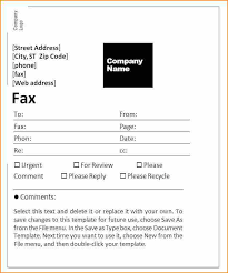 Template For A Fax Cover Sheet Cover Sheet Template Assessment Cover Sheet Word Template Free