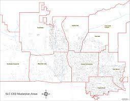 Salt Lake City Map Community Organizations City Master Plans Salt Lake City The