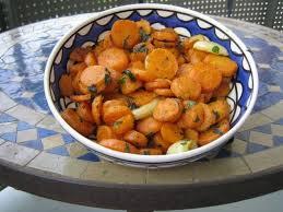 cuisiner les carottes recette de salade de carottes à la marocaine la recette facile