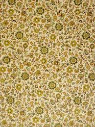 vintage floral wallpaper with small pattern of green flowers