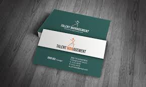 simple u0026 modern corporate business card template free download
