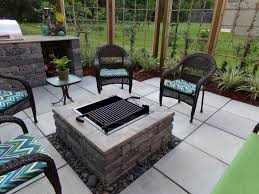 Backyard Landscaping With Fire Pit - fireplaces landscape fire pits u2014 porch and landscape ideas