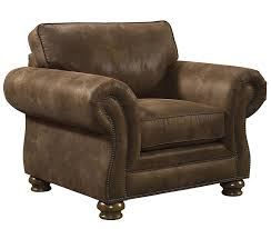 chairs brown leather club chair and ottoman bonded library with