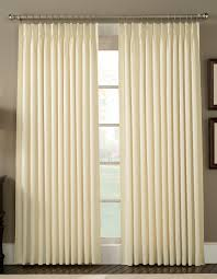 Pinch Pleat Patio Panel by Pinch Pleated Panels Cape May Linen