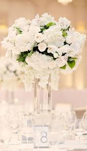 white flower centerpieces white winter wedding centerpieces ideas wedding flower
