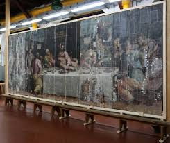 the history blog blog archive update on vasari s last supper in 2013 the last supper