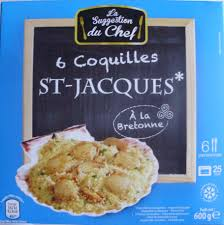 cuisiner les st jacques surgel馥s extraordinary cuisine coquille jacques concept iqdiplom com