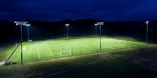 led ball field lighting rtm approves donation for permanent field lights at darien high