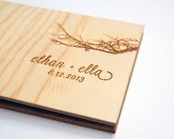wood photo album 22 wedding guest book tropicaltanning info