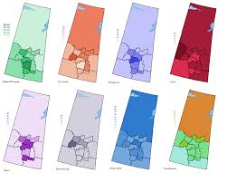 Saskatoon Canada Map by Canadian Demographic Maps