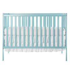 Modern Convertible Crib On Me Synergy 5 In 1 Convertible Crib Aqua