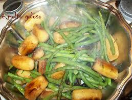 cuisiner des haricots verts ragoût de pommes de terre au thym frais et haricots verts ciboulette