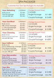 vayo massage prices 06 vayo massage u0026 beauty salon in phuket