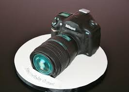 nikon camera cake from sweet grace cake designs in haworth nj 07641