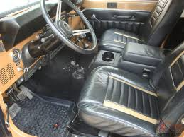 jeep hardtop interior jeep cj7 jamboree edition 30th anniversary cj 7 w ac hardtop