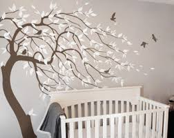 Nursery Wall Mural Decals Nursery Wall Decals Removable Self Adhesive By Theoliviadesign