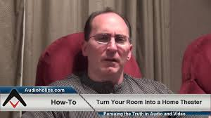 home theater news how to convert a regular room to a home theater youtube