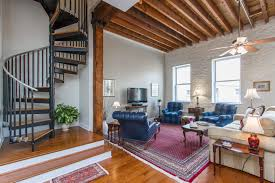 old city loft charms with rustic details asks 369 900 curbed