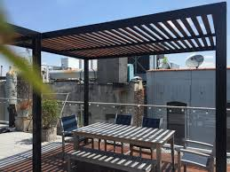 Steel Pergola With Canopy by Pergola U2014 Dion City Landscapes Inc