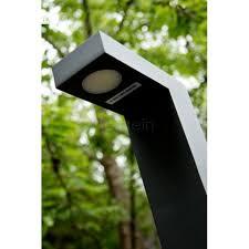 Led Pedestal Light Lucide Texas Outdoor Pedestal Light Led Black 28851 40 30