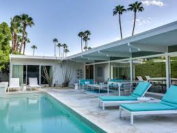 mid century house midcentury icon vacation palm springs