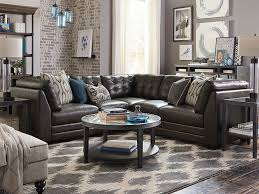 black friday bassett furniture affinity small l shaped sectional leather sectional leather and