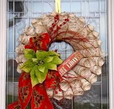 tea wreath craft google search christmas decor pinterest