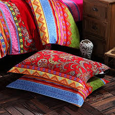 Country Style King Size Comforter Sets - lelva ethnic style bedding sets morocco bedding american country