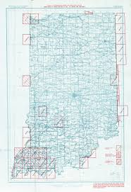Indiana Map Us Historical U S Topographic Map Indexes Perry Castañeda Map