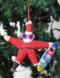 adorable large starfish santa ornament by adorningdelights on etsy