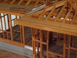 hand build architectural wood framework model house hand build architectural wood framework model house models