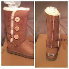 ugg boots sale size 3 ugg bailey button triplet ebay