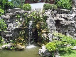 Rock Garden Waterfall Waterfall And Rocks In Singapore Garden Gardens Garden