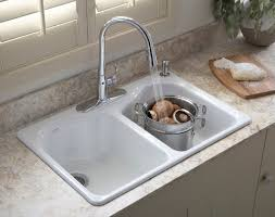 kitchen awesome sink faucet hole cover prep sink double sink