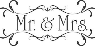wedding mr u0026 mrs custom wall decor words vinyl lettering decal