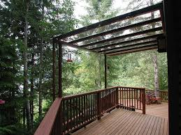 Transparent Patio Roof Patio Covers Hansen Architectural Systems