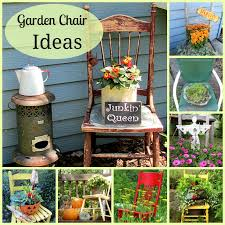 Outdoor Fall Decorating Ideas by Organized Clutter Chair Planter Ideas