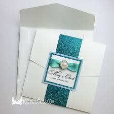 wedding pocket envelopes lace wedding invitations free shipping