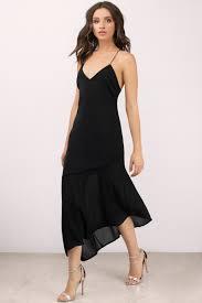 midi dress black dress cross back dress midi flare dress midi dress