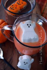 spirit halloween anderson ca orange cocoa with ghost peeps or normal cocoa with