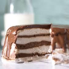 3 ingredient chocolate u0026 banana cream ice cream cake kelley and