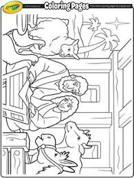nativity coloring pages bible activities kids