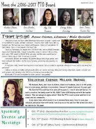 pto newsletters cannon falls area schools