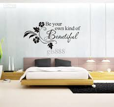 Wall Decor Stickers by 1066 60 80cm Wall Words Lettering Saying Wall Decor Sticker Vinyl