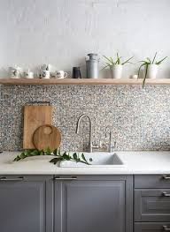 backsplash for kitchen without cabinets simplifying remodeling where should you start and stop your
