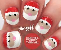 20 fabulous and easy diy christmas nail art design tutorials