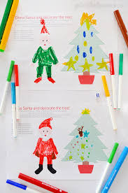 free printable roll and colour christmas game picklebums